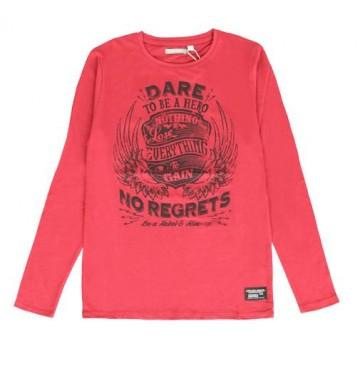 Nocturne teen boys shirt combo 1 tibetan red (6 pcs)