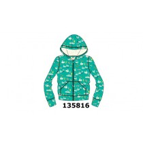 135816 Infusion cardigan sweat small girls enamel blue (5 pcs)