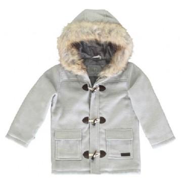 135856 Earthed small boys jacket grey melange (5 pcs)