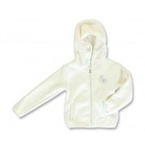 Small girls cardigan sweat marshmallow (5 pcs)