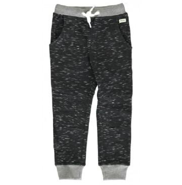 Essentials small boys jogging pant black (5 pcs)