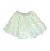 136331 Mermaids small girls skirt blue tint (5 pcs)