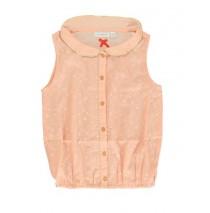 136575 Thema small girls blouse salmon (5 pcs)