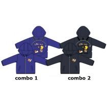 136736 Youth Tonic baby boys jacket combo 2 blue nights (4 pcs)