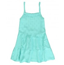 136741 Psychotropical small girls dress tropic blue (5 pcs)