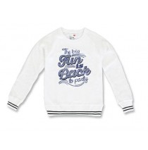 136912 Youth TonicTeen girls sweatshirt optical white (5 pcs)