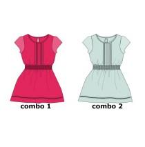 Psychotropical small girls dress combo 2 omphalodes  (6 pcs)