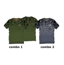 136928 Psychotropical teen boys shirt combo 2 vintage indigo (6 pcs)