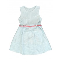 Kinship small girls dress tropic blue (5 pcs)