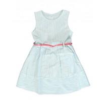 Kinship small girls dress tropic blue (5 pcs)