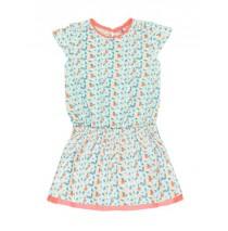 136954 Kinship small girls dress combo 1 living coral (6 pcs)