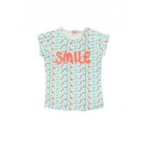 136956 Kinship small girls shirt  combo 1 living coral (6 pcs)