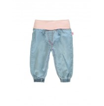 Youth Tonic baby girls denim pant combo 1 blue (4 pcs)