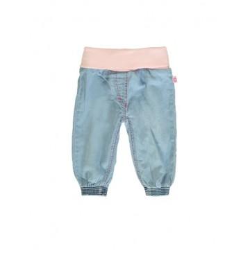 Youth Tonic baby girls denim pant combo 1 blue (4 pcs)