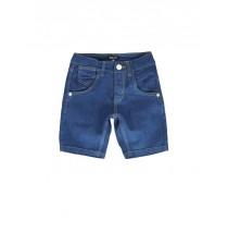 136976 Youth tonic small boys denim bermuda ink blue (5 pcs)