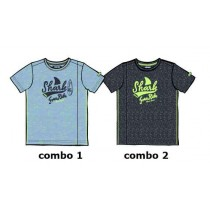 136999 Psychotropical Small boys shirt combo 2 blue nights (6 pcs)
