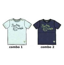 137015 Psychotropical Small boys shirt combo 2 blue nights (6 pcs)
