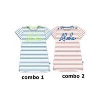 137017 Kinship baby girls dress combo 2 hibiscus (4 pcs)