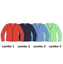 137052 Kinship  small girls cardigan sweat 4 colours (16 pcs)