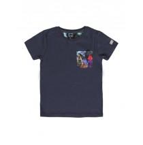 137102 Psychotropical Small boys shirt combo 1 blue nights (6 pcs)