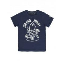 137110 Psychotropical Small boys shirt combo 1 deep blue (6 pcs)