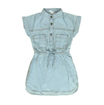 Coastal Cruise small girls dress light blue (5 pcs)