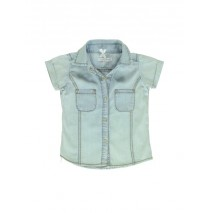 137157 Coastal Cruise small girls blouse blue (5 pcs)