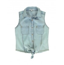 137158 Youth Toninc Teen girls blouse light blue (5pcs)