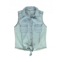 137158 Youth toninc teen girls blouse light blue (10 pcs)