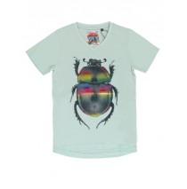 137192 Psychotropical teen boys shirt combo 1 sterling blue (6 pcs)