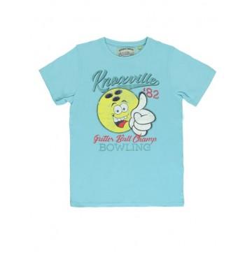 137200 Youth Tonic teen boys shirt tropic blue+blue nights (12 pcs)