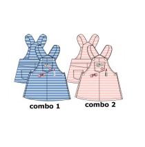 137220 Youth tonic baby girls dress combo 2 orchid pink (4 pcs)