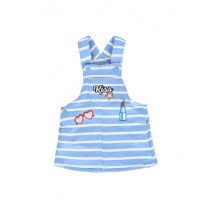 Youth tonic baby girls dress combo 1 silver lake blue (4 pcs)