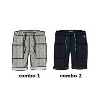 137228 Youth Tonic Teen boys bermuda combo 2 blue nights (6 pcs)