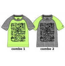 Youth Tonic Small boys shirt combo 2 grey melange (6 pcs)