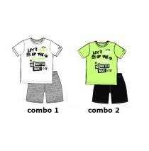 137253 Youth tonic small boys set combo 2 sharp green (6 pcs)