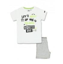 137253 Youth tonic small boys set optical white+sharp green (12 pcs)