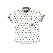 Youth tonic teen boys blouse optical white (5 pcs)