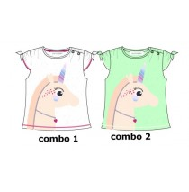 Youth Tonic baby girls shirt combo 2 jade cream (4 pcs)