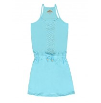 137335 Psychotropical Teen girls dress combo 1 tropic blue (6 pcs)