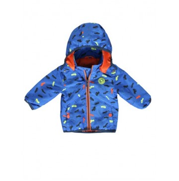 137338 Psychotropical baby boys jacket turkish sea+sharp green (8 pcs)
