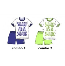 Kinship small boys set combo 2 sharp green (6 pcs)