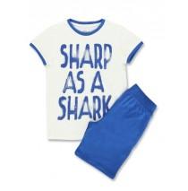 Small boys set shirt+bermuda sharp green (6 pcs)