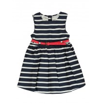 137441 Coastal Cruise small girls dress blue nights (5 pcs)