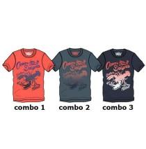 Kinship teen boys shirt combo 3 blue nights (4 pcs)