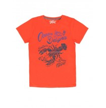 Kinship teen boys shirt combo 1 spiced coral (4 pcs)