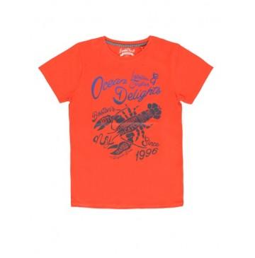 Kinship teen boys shirt combo 1 spiced coral (4 pcs)