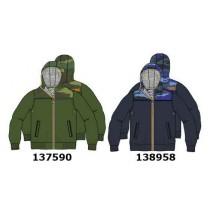 138958 Youth tonic small boys jacket blue nights (5 pcs)