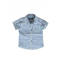 Psychotropical baby boys blouse snapdragon checks (4 pcs)