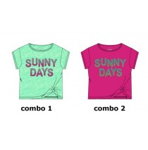 137658 Psychotropical small girls shirt  combo 2 cabaret (6 pcs)